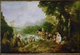 """Qui a peint """"Le Pèlerinage à l'île de Cythère"""" ?"""