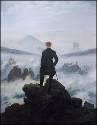 """Qui a peint """"Le Voyageur contemplant une mer de nuages"""" ?"""