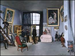 """Qui a peint """"l'atelier de Bazille"""" ?"""