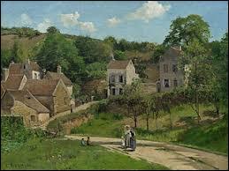 """Qui a peint """"L'Hermitage à Pontoise"""" ?"""