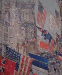 """Qui a peint """"Jour des Alliés, mai 1917"""" ?"""