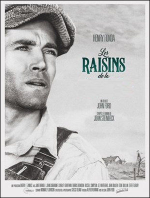 Quel ce film de 1947, l'histoire d'une famille américaine expropriée de leurs terres suite à la crise de 1929 en recherche de travail, mais elle ne rencontre que spoliation et injustice ?