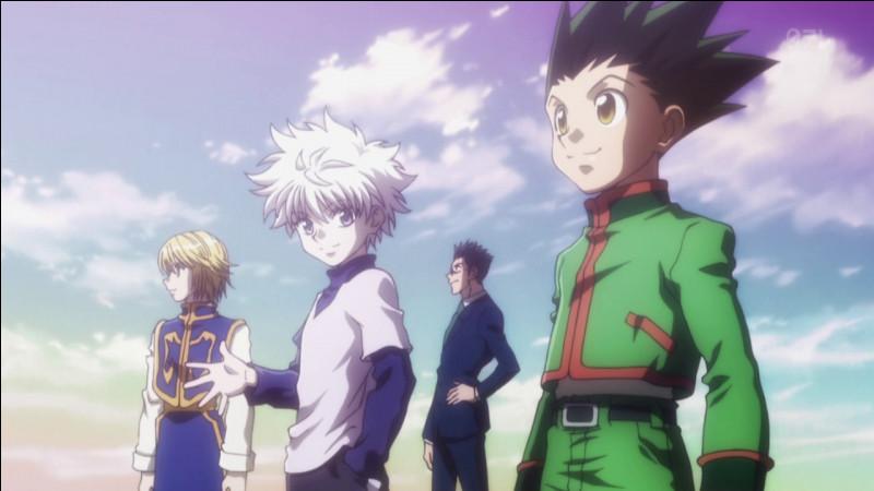 Qui sont les deux premiers amis que le jeune Gon se fait au début de l'histoire ?
