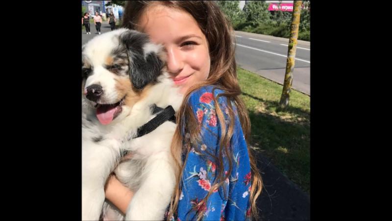 Comment s'appelle sa chienne ?