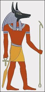 Anubis est le dieu de la momification et des morts.