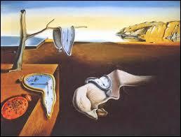 Comment s'appelle sa toile avec les horloges qui fondent ?