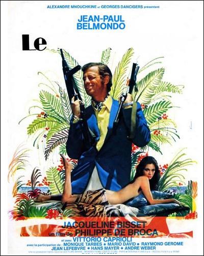 """Film d'action typique où Philippe de Broca oscille entre l'aventure et le burlesque. Du taillé sur mesure pour """" Bebel """"..."""