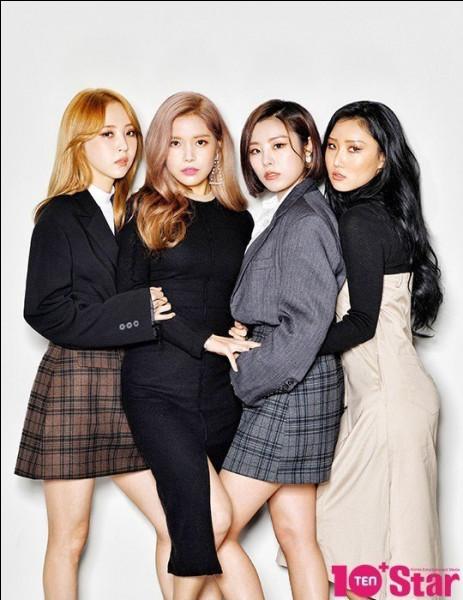 Quel est le nom de ce groupe de filles ?