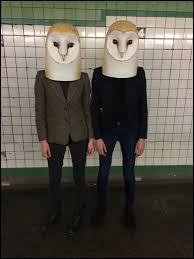 De quel animal viennent ces masques ?
