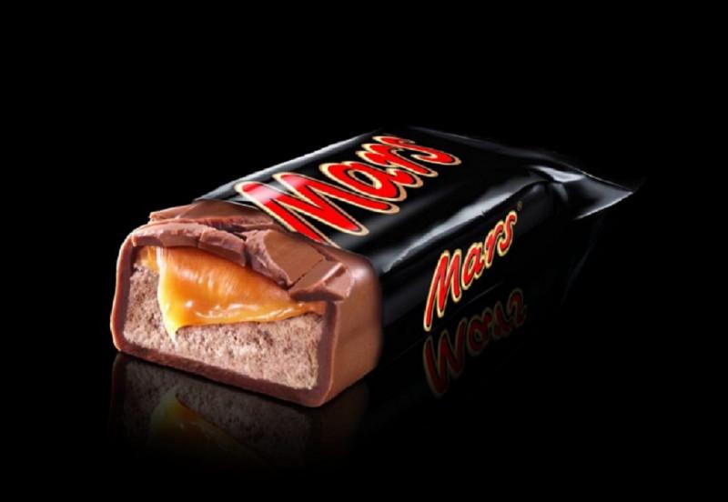 Quel ingrédient n'entre PAS dans le barre chocolatée ''Mars'' ?