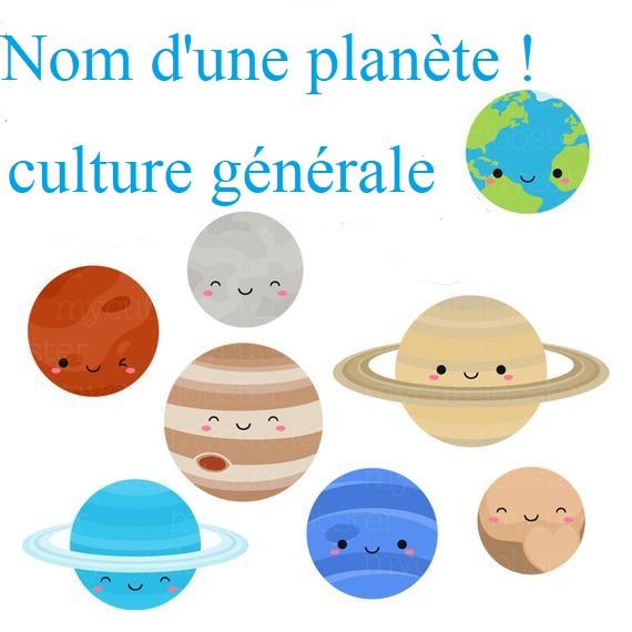 Noms des planètes sous d'autres angles