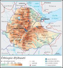 Quelle est la superficie approximative de l'Ethiopie ?