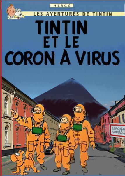 Pour une fois, Tintin c'était trompé en se dépêchant d'aller dans cette petite ville minière du Nord : où est-il ? (Conseil : agrandissez l'image)
