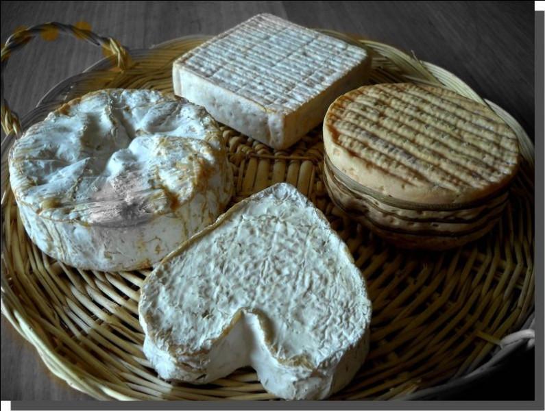 Lizéa et Émilierouge auront une préférence pour ce joli fromage en forme de cœur :