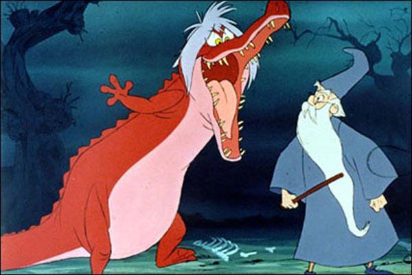 Sorti en 1963, il est adapté du livre de Terence Hanbury White, L'Épée dans la pierre (1938). Le film reprend des thèmes habituels de Disney, le monde médiéval et la magie, mais pour de nombreux auteurs cette adaptation d'une légende ne possède pas les qualités d'un « Classique de Disney ».