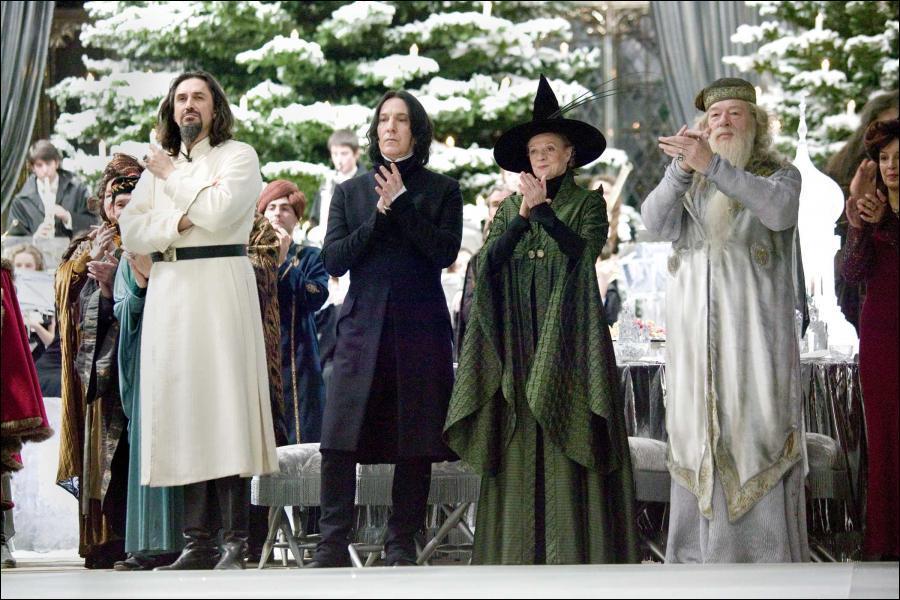 Avec qui va danser Dumbledore ?