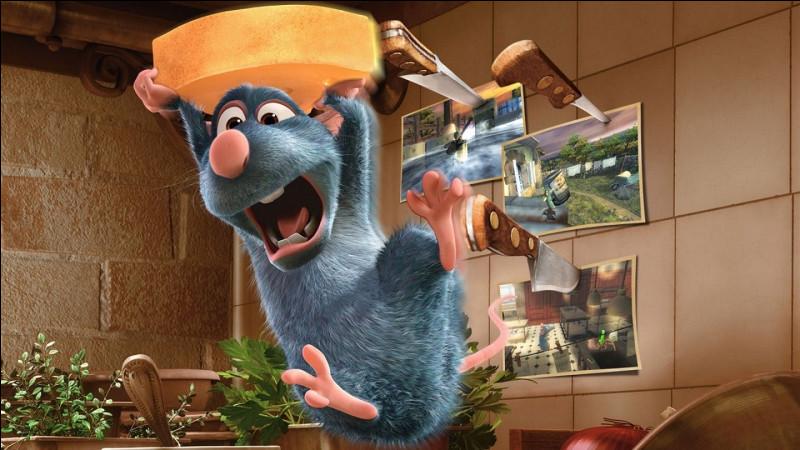 Quel est le nom du rat dans le film d'animation ''Ratatouille'' ?