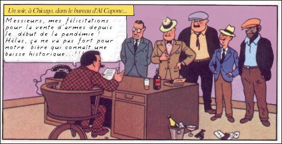 C'est la panique chez les gangsters américains ! Que penser du discours de leur chef, Al Capone ?