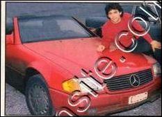 Connaissez-vous l'ancienne immatriculation des voitures de Claude Barzotti qui se sont succédées (Mercedes blanche, rouge et grise) car en Belgique le propriétaire garde sa plaque d'immatriculation quand-il change de véhicule.