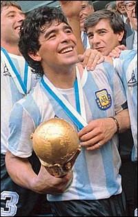 En quelle année remporta-t-il la Coupe du monde avec l'équipe nationale d'Argentine ?