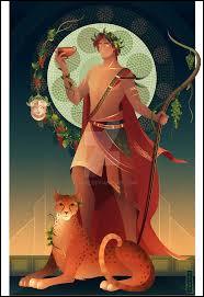 Dionysos est le dieu :
