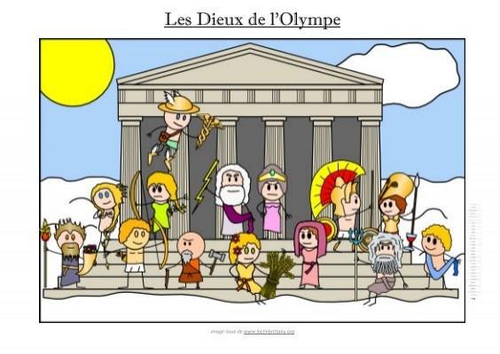 Connais-tu bien les dieux de l'Olympe et autres personnages de la mythologie ?
