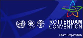 La Convention de Rotterdam est une convention internationale engagée par le Programme des Nations Unies pour l'environnement. Elle a pour but :