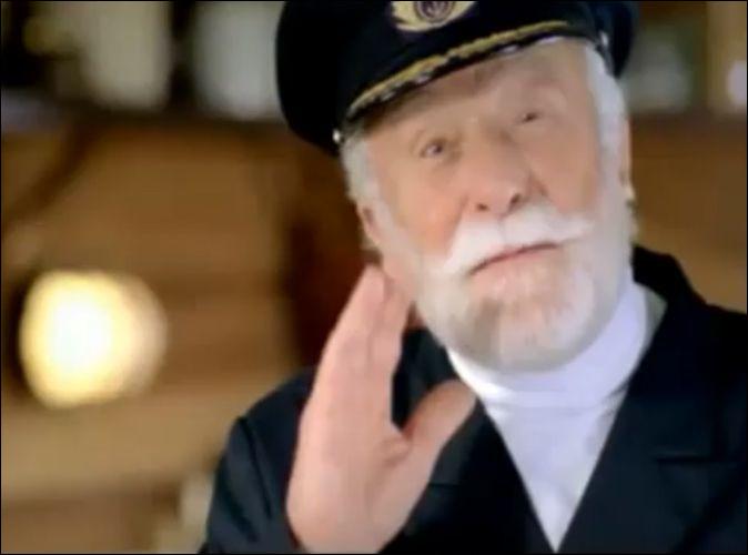 De quel produit le Captain Iglo fait-il la promotion ?
