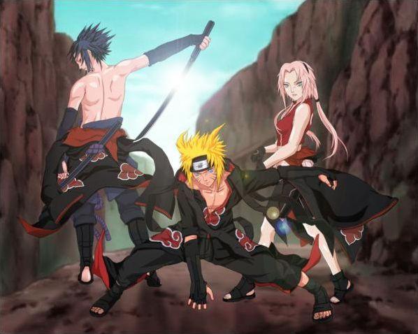 Naruto shipudden et akkipuden