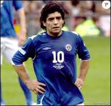 De quel pays est originaire le joueur de football Diego Maradona ?