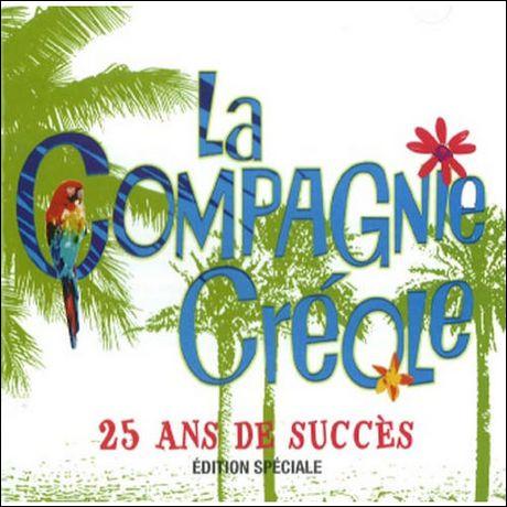 À l'origine, combien de membres le groupe La Compagnie créole comportait-il ?