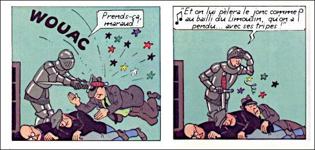 Mais quel gaillard paillard, ce Tintin, tout de même !
