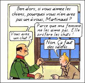 Tintin a su aborder les registres les plus graves du cinéma noir, notamment dans ce huis clos étouffant...