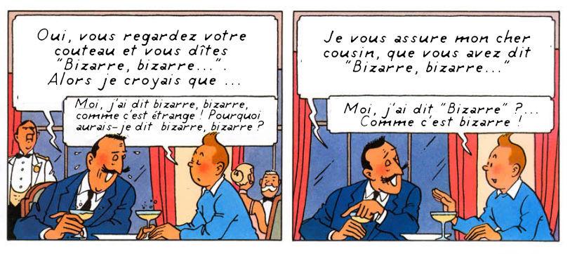 Tintin et les Toiles Mystérieuses (2)
