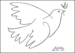 "Qui a dessiné ""La Colombe de la paix"" en 1949 ?"