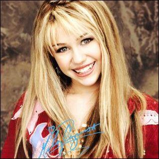 Quelle est la couleur préférée de Hannah Montana ?