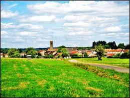 Commune Haut-Saônoise, Anjeux se situe en région ...