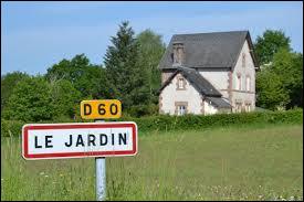 Petit village Corrézien dans le Pays d'Égletons, Le Jardin se situe en région ...