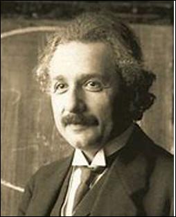 Qui est cet Albert, physicien apatride, théoricien de la relativité, prix Nobel de physique en 1921, mort en 1955 ?