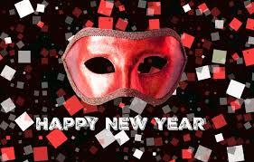 Bonne année 2021 ! Le bal masqué ! C'est la fête !