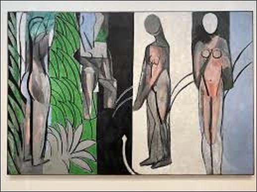 Quel fauviste est l'auteur de ce tableau intitulé ''Les Demoiselles à la rivière'', toile exécutée entre 1916 et 1917 ?