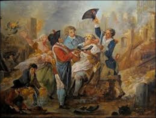 '' Le Plat à barbe lillois'' est une peinture à l'huile réalisée en 1793. Quel artiste est l'auteur de cette toile ?