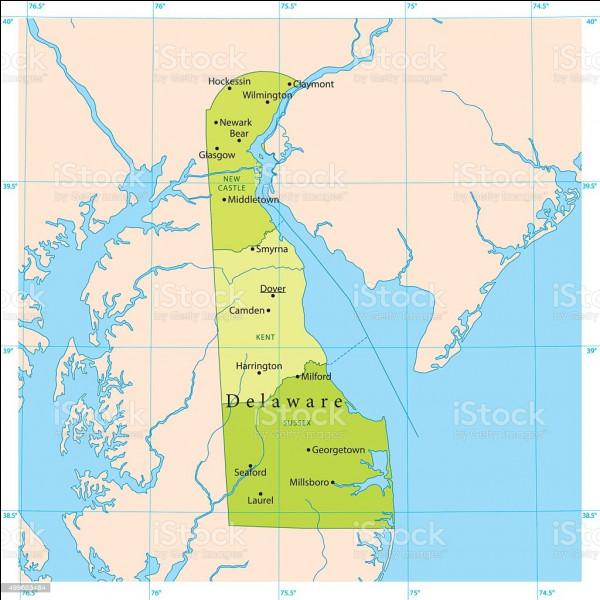 Quelle est la capitale de l'État américain du Delaware ?