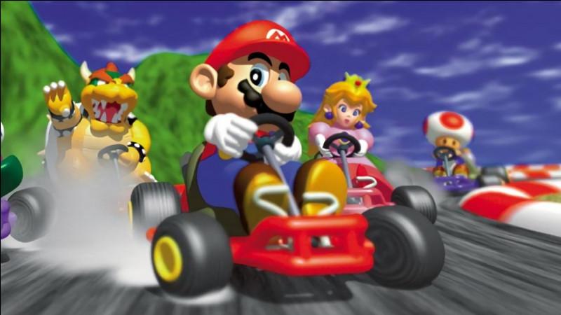 """Sur quelle console, dans le jeu de """"Mario Kart"""", les personnages ne peuvent-ils pas traverser l'eau profonde ?"""