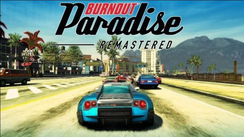 """Combien de voitures y a-t-il dans """"Burnout Paradise"""" ?"""