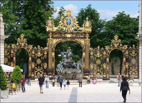 La Place Stanislas se trouve à