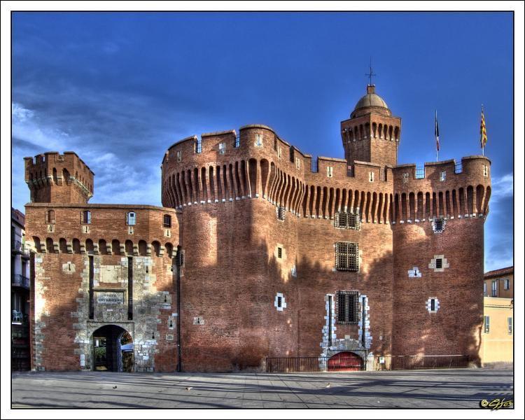 La Palais du Castillet se trouve à :