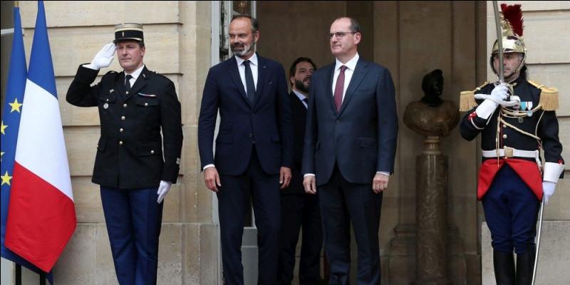 3 juillet, changement de 1er ministre en France. Jean Castex remplace....