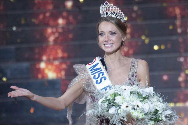 En quelle année est-elle Miss France ?