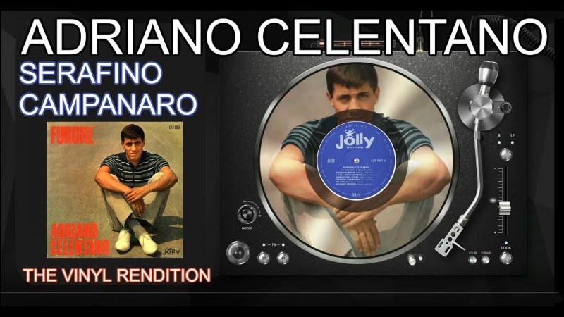 """Serafino Campanaro - Adriano Celentano.Voici maintenant """"Serafino Campanaro"""", une chanson d'Adriano Celentano. Certes, ce n'est pas un chant de Noël, mais la tonalité du morceau me fait tellement penser aux fêtes de fin d'année qu'elle figure dans ma playlist de Noël ! De quelle nationalité est Adriano Celentano ?"""